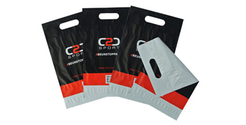 Poly Mailers with Handle