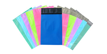 Colored Plain Poly Mailers